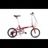 Bicicleta Pegas Teoretic Rosu Candy 2017