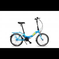 Bicicleta Pegas Camping Albastru Calator 2017