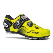 Pantofi ciclism MTB Sidi Cape galben fluo
