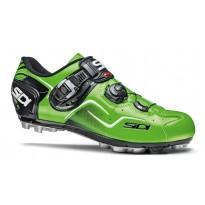 Pantofi ciclism MTB Sidi Cape verde fluo