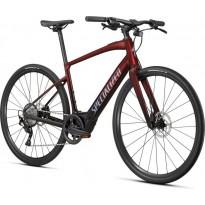 Bicicleta SPECIALIZED Turbo Vado SL 4.0 - Crimson Red Tint / Black Reflective L