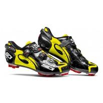 Pantofi ciclism MTB Sidi Drako Carbon SRS negru galben fluo