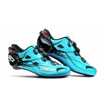 Pantofi ciclism ROAD Sidi Shot Carbon albastru negru