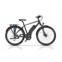 "Bicicleta CROSS Elegra Trekking Man 28"" Gri/Negru 500mm"