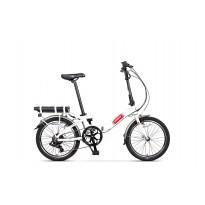 Bicicleta Pegas Camping Dinamic E-Bike Alb Perlat 2018