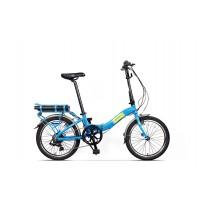 Bicicleta Pegas Camping Dinamic E-Bike Albastru Calator 2018