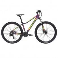 "Bicicleta CROSS Causa SL1 27.5"" galben rosu"