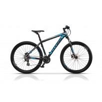 Bicicleta Cross GRX 27.5 2017 - Negru/Albastru/Gri
