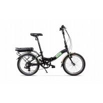 Bicicleta Pegas Camping Dinamic E-Bike Negru Stelar 2018