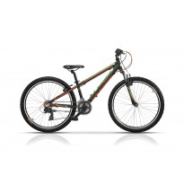 Bicicleta Cross Speedster 26 2017 - Negru/Verde/Portocaliu