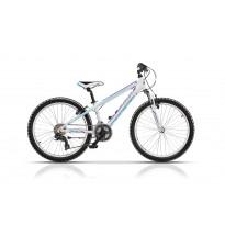 Bicicleta Cross Speedster 24 2017 - Alb/Abastru/Mov
