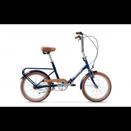 Bicicleta Pegas Practic Albastru Calator 2017
