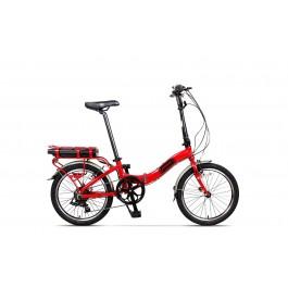 Bicicleta Pegas Camping Dinamic E-Bike Rosu 2018