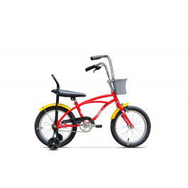 Bicicleta Pegas Mezin Rosu Bombonica 2017